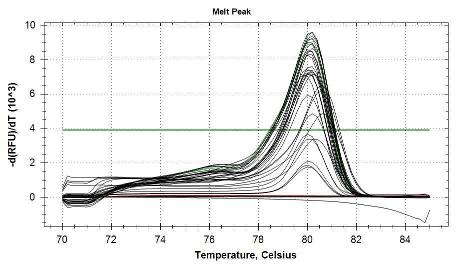 APLP melt curves