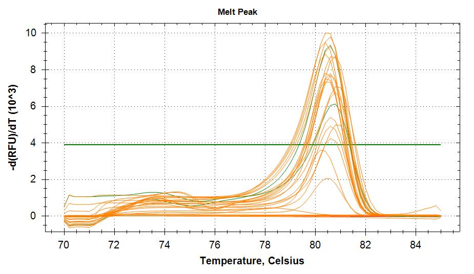 TIF3s8-1 melt curves